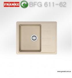 Мойка для кухни Franke BFG 611-62