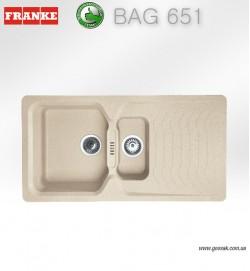 Мойка для кухни Franke BAG 651