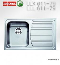 Мойка для кухни Franke LLX (L) 611-79