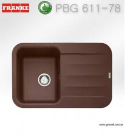 Мойка для кухни Franke PBG 611-78