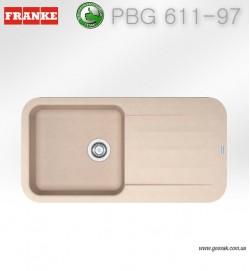 Мойка для кухни Franke PBG 611-97