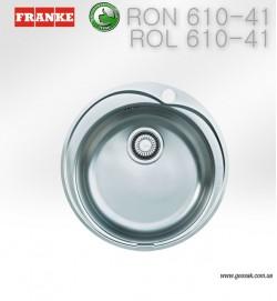 Мойка для кухни Franke RON, ROL 610-41
